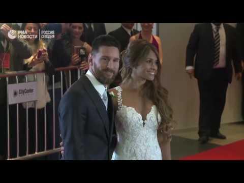 Свадьба футболиста Лионеля Месси