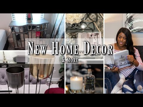 💙 GLAM HOME DECOR HAUL | AMAZON FINDS | ROSS & DRESSLILY FASHION 💙