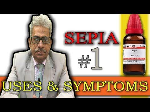 Sepia in Hindi (Part 1) - Uses & Symptoms by Dr P. S. Tiwari