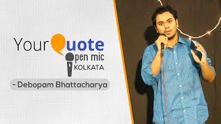 Video 'How to live in India' by Debopam Bhattacharya | English Story | YQ Open Mic 1 Kolkata download MP3, 3GP, MP4, WEBM, AVI, FLV Desember 2017