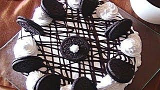 Oreo Ice Cream Cake