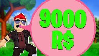 NAJWIĘKSZY BALON/PROGRES Z GUMY BALONOWEJ ZA 9000R$ | ROBLOX