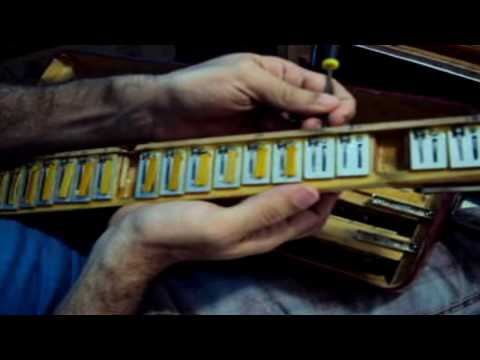 Afinação de acordeon parte  2