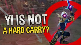 I AM NOT A HARD CARRY AND I DON'T SCALE WELL - COWSEP