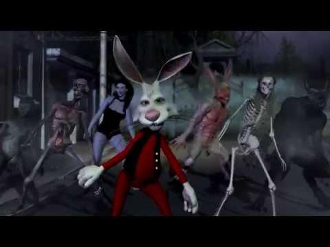 "White Rabbit Halloween - Michael Jackson ""Thriller"" Animated Tribute"