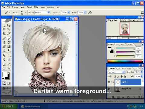 Mengubah Warna Rambut - YouTube