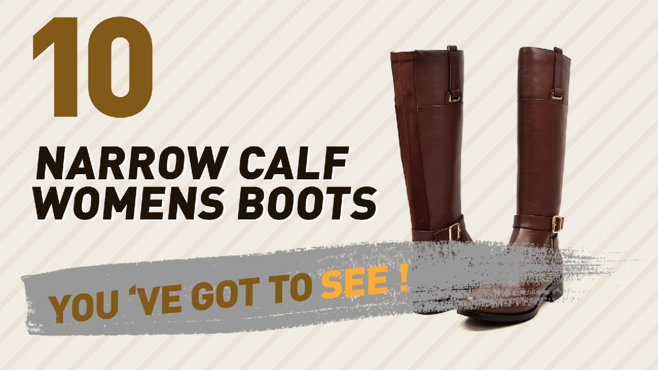 10692d41342 Narrow Calf Womens Boots Collection // New & Popular 2017