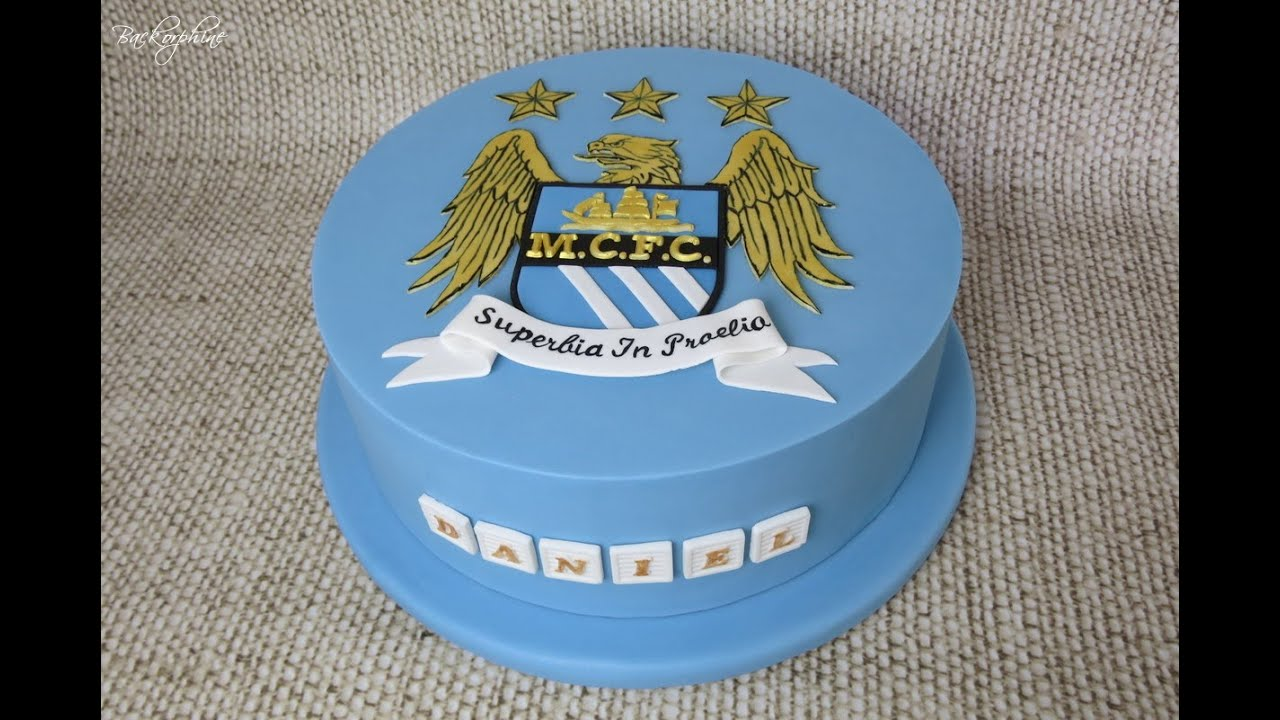 Manchester City Football Birthday Cakes