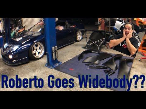 Roberto Goes Widebody??