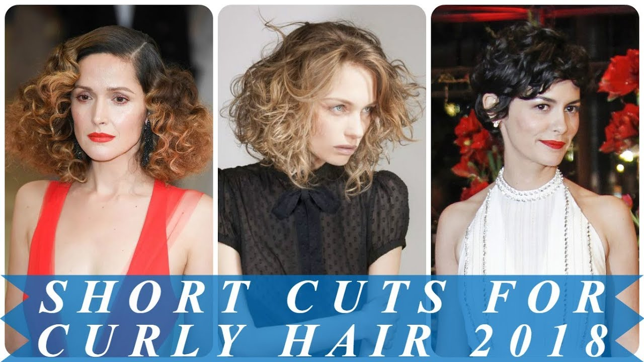 15 Stylish Hairstyles For Short Curly Hair 2018 For Women Youtube
