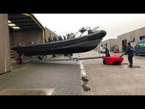 Remolcador industrial en movimiento V-Move 3XL Barco militar | Xerowaste.ca
