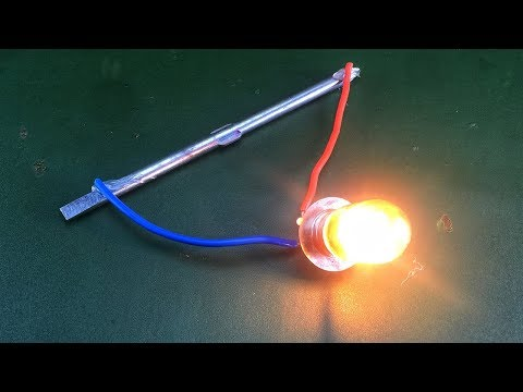 Amazing Free Energy Using Magnet 100%