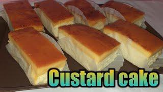 Custard cake (w/costing  Sa halagang 156pesos )