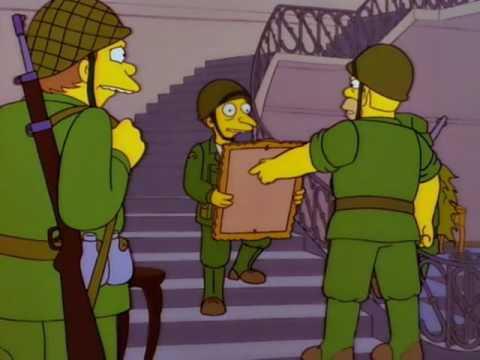 Los Simpson El Tesoro Del Pez Volador Youtube