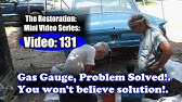 Why your gas gauge stops working in your old vehicle - YouTube
