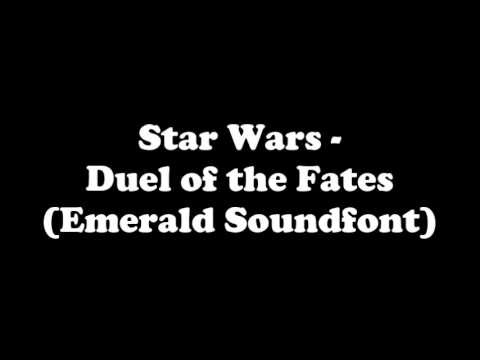 Star Wars - Duel of the Fates (Emerald Soundfont)