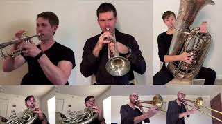 HOGWARTS MARCH - Patrick Doyle (Arranged for Brass Ensemble)