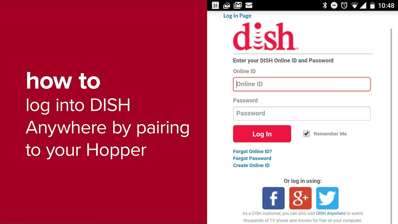 How to Log in to DISH Anywhere by Pairing to Your Hopper