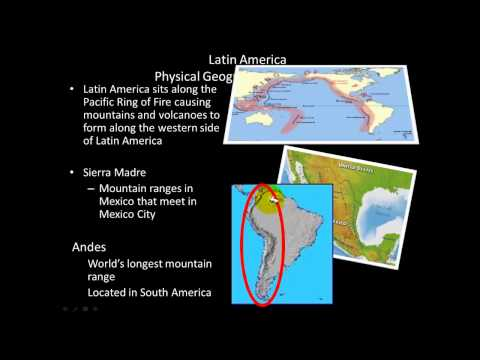 Latin America Physical Geography