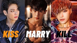 KISS MARRY KILL | MALE IDOL EDITION 2021 (VERY HARD)