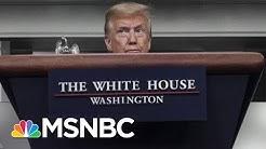 Trump Says He Downplayed Coronavirus Because He's America's Cheerleader   The 11th Hour   MSNBC