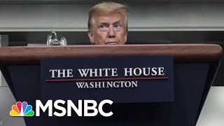 Trump Says He Downplayed Coronavirus Because He's America's Cheerleader | The 11th Hour | MSNBC