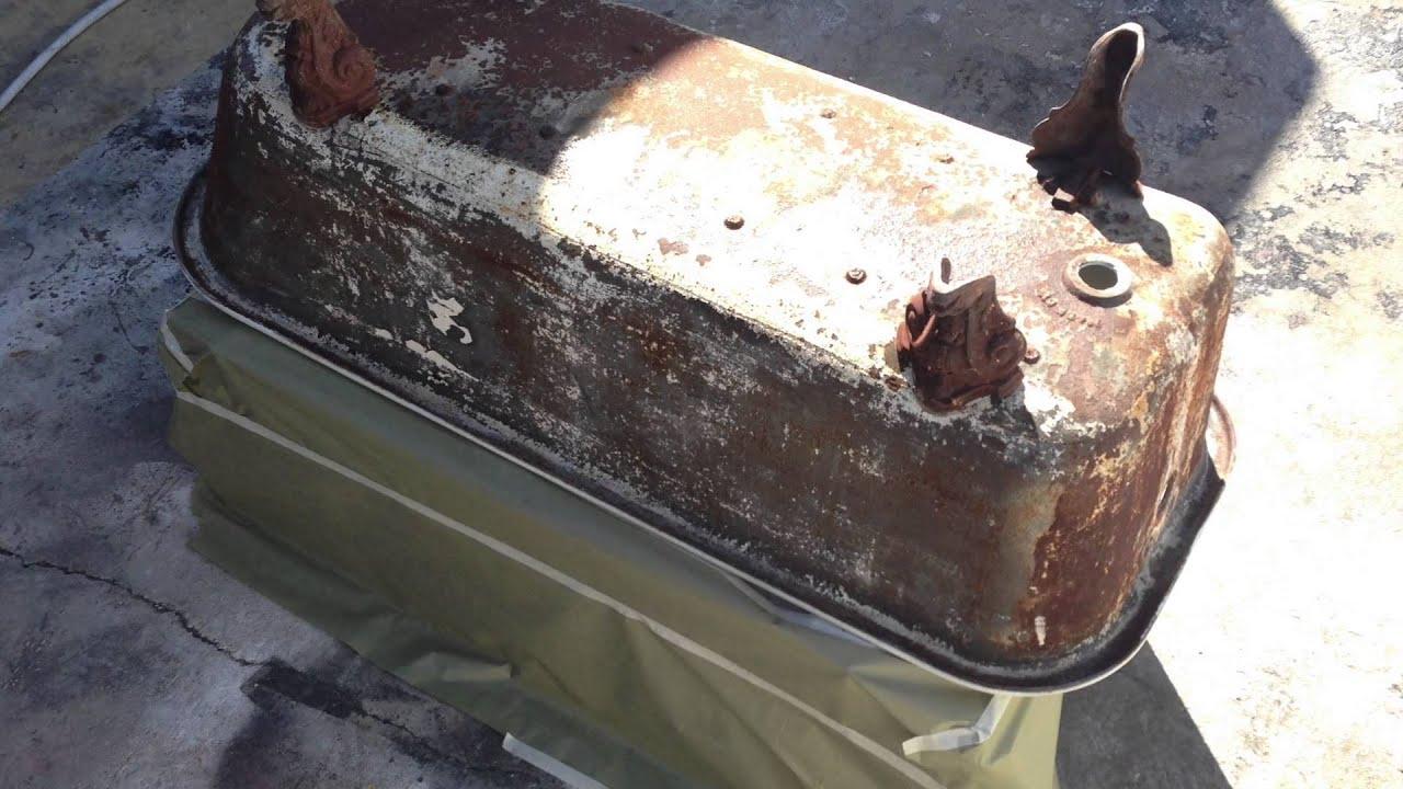 Restoration Of Vintage Clawfoot Bathtub Youtube
