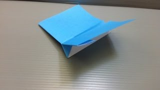 Paper Airplane Origami - Traditional Origami Jet Plane Ver. 4