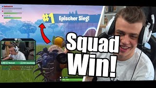REDEN about BEST LANDESPOT & NEW SKIN! Papaplate 3Er Squad with Venicraft & BastiGHG - Fortnite
