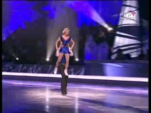 Dima Bilan and Elena Berezhnaya - movie about Stars Ice