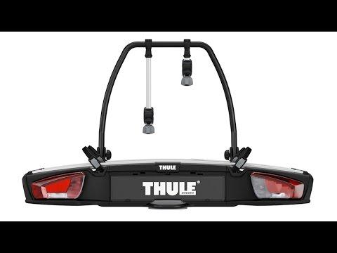 towbar bike rack thule easyfold xt 2 bike doovi. Black Bedroom Furniture Sets. Home Design Ideas
