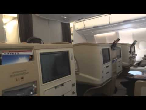 SINGAPORE AIRLINES | SINGAPORE-BRISBANE | BUSINESS CLASS