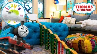 Thomas and Friends HOUSE TRACK TOUR! Fun Toy Trains  with Brio and Thomas Train