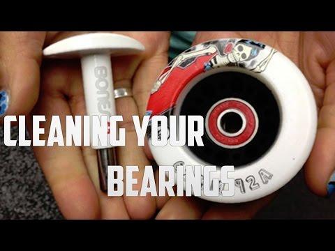 Clean Skateboard & Longboard Bearings CORRECTLY