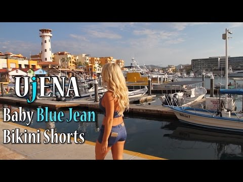 86297b6f9abe Baby Blue Jean Bikini by UjENA - YouTube