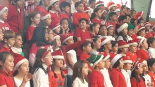 Chorale CE2 Lycée La Condamine Quito 2015