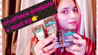 M'caffeine products honest review||Coffee Face wash, SCRUB & MASK,,By Varda Mahak||