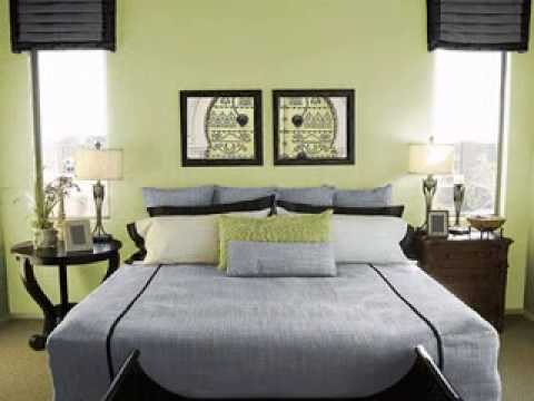 Diy Light Green Bedroom Design Decorating Ideas Youtube