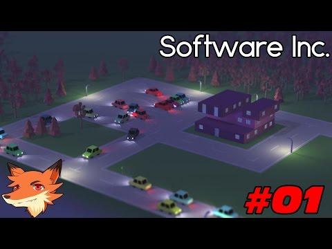 Software Inc. - Let's Play Ep.01 || Field Games débute . A nous les pépètes !