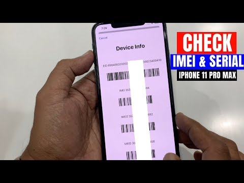 How To Check IMEI Number And Serial Number In IPhone 11 Pro Max