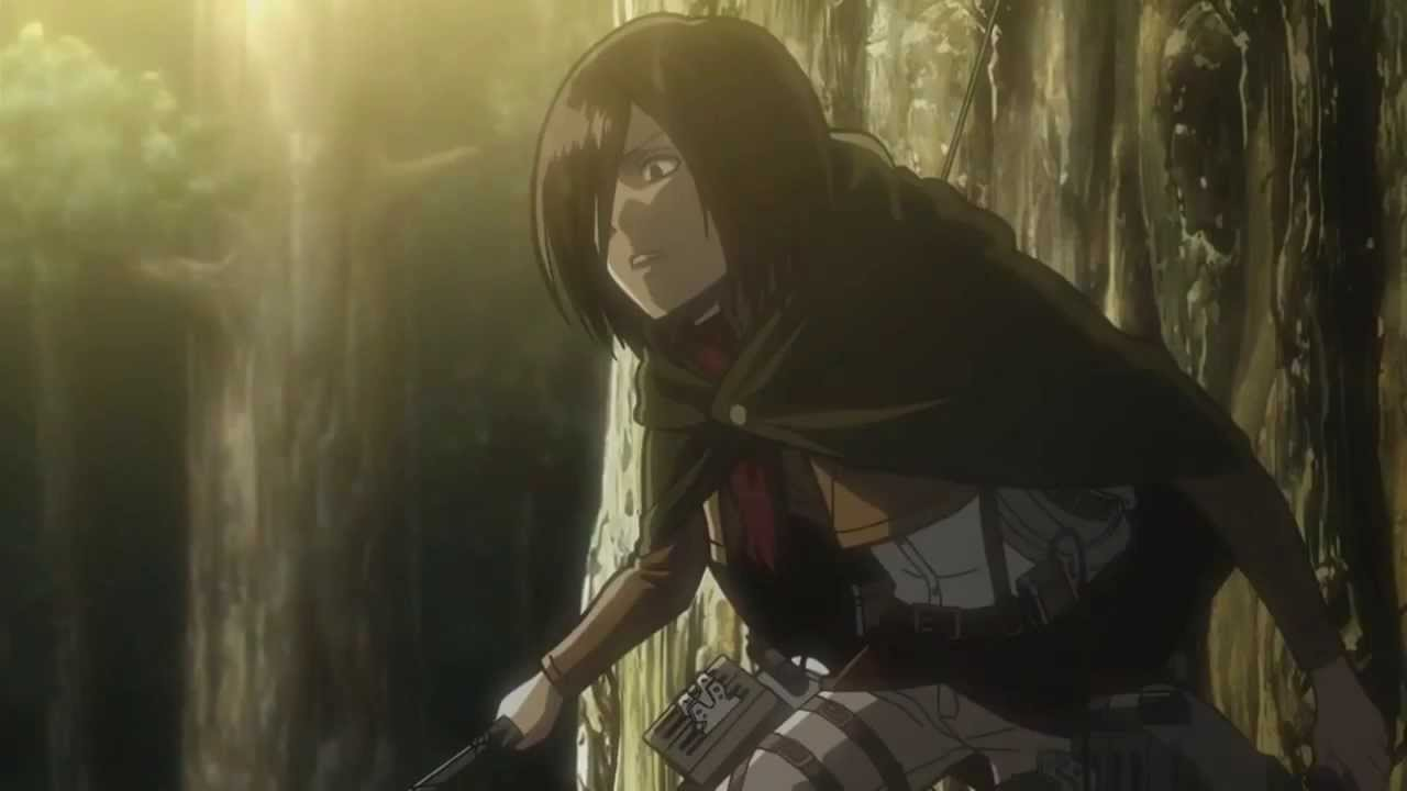 Attack on titan mikasa ackerman slideshow - 4 5