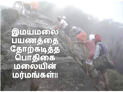 தமிழகத்தின் இமயமலை / Fact of Agasthiyar hill(Tamil) / Pothigai malai