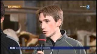 A la rencontre des producteurs de lait à Comté de Reculfoz (Doubs)