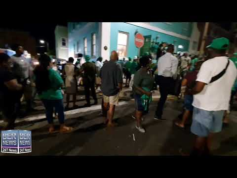 3 | PLP Supporters Celebrate Election Victory, Oct 1 2020