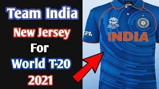 Team India New Jersey For Icc World T-20 2021 | #world_cup