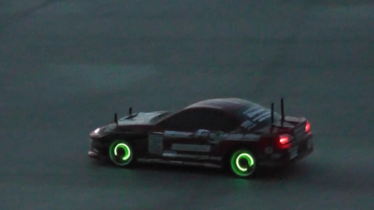Awesome Lights For Rc Drift Car Shell And Wheels Youtube