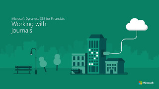 Work with journals in Microsoft Dynamics 365 for Financials