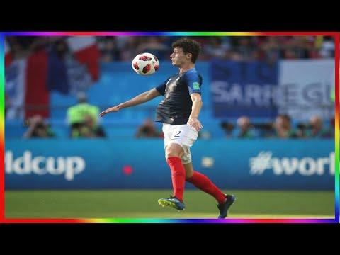 Coupe du monde : après France-Argentine, les larmes de Pavard à «Téléfoot