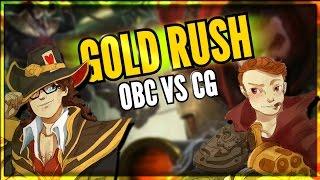 GOLD RUSH   OBC versus CG with Sp4zie