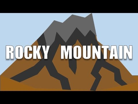 ROCKY MOUNTAIN - A TRADITIONAL FOLK SONG TO SING ALONG TO